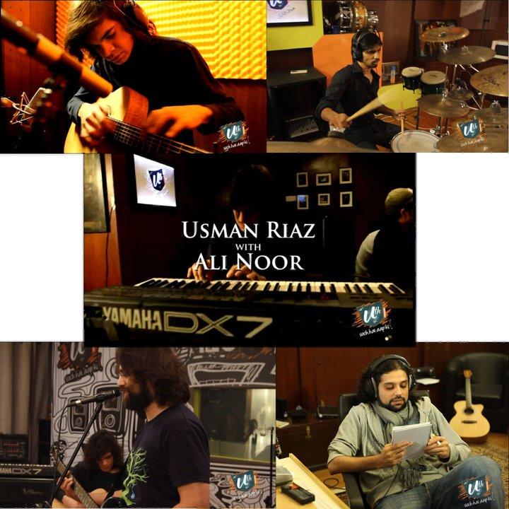 Main Woh Duniya Hoon Song Download: Hum Tum – Usman Riaz Feat.Ali Noor (Uth Records)